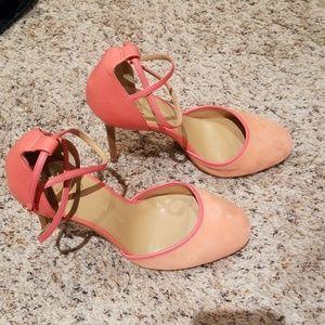 Banana Republic Coral Stiletto heels